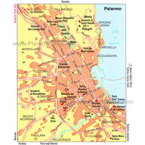 Map - Palermo General