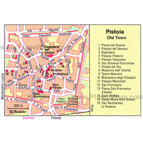 Map - Pistoia