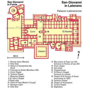 Basilica Of St John Lateran San Giovanni In Laterano