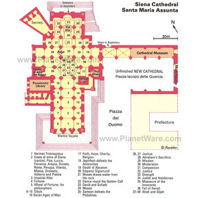 Map - Siena Cathedral