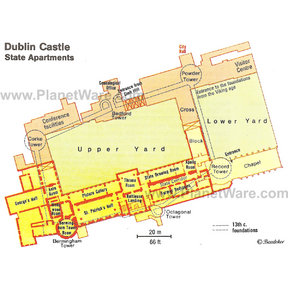 Map - Dublin Castle