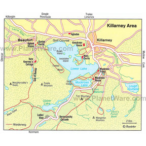 Map - Killarney Area