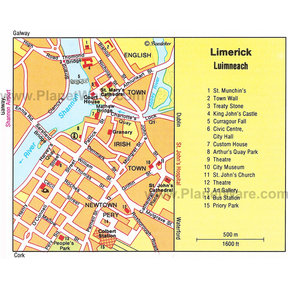 Map - Limerick