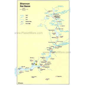 Map - River Shannon