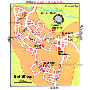Map - Bet Shean
