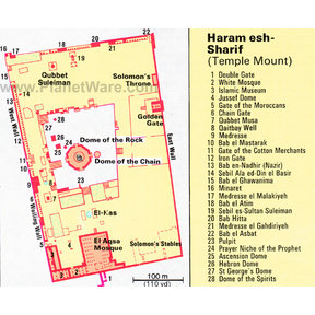 Map - Jerusalem - Temple Mount