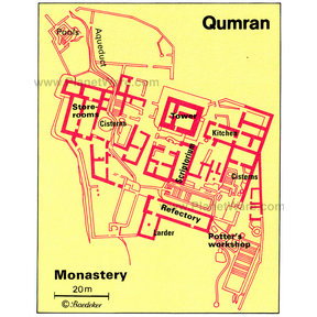 Map - Qumran