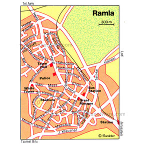 Map - Ramla