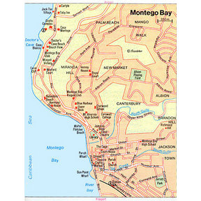 Map - Montego Bay