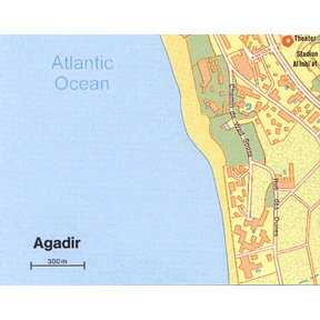 Map - Agadir Southwest