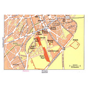 Map - Rabat South