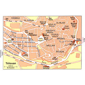 Map - Tetouan