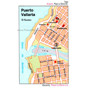 Map - Puerto Vallarta