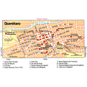 Queretaro Map