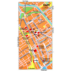 Map - Delft
