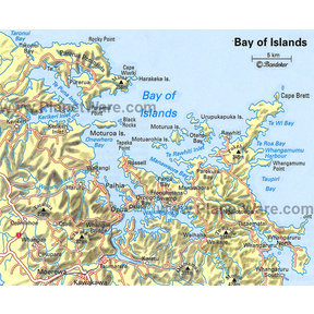 Map - Bay of Islands