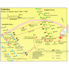 Map - Culloden