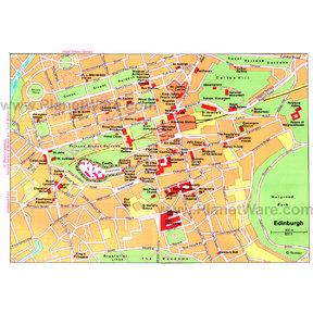 Map - Edinburgh