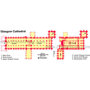 Map - Glasgow Cathedral