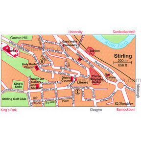 Map - Stirling