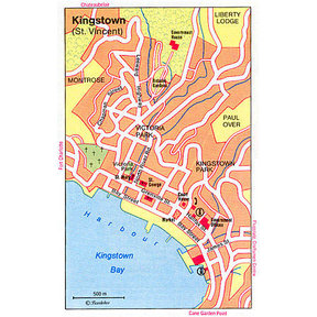 Map - Kingstown