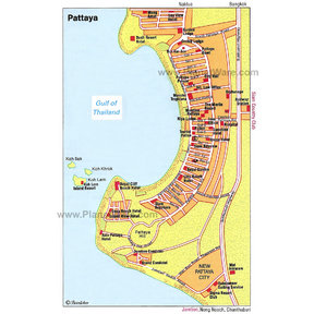 Map - Pattaya, Chonburi
