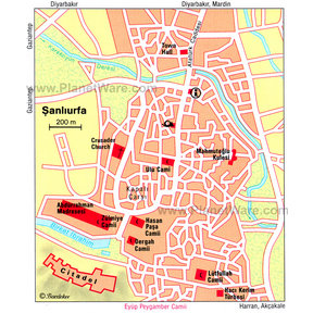 Map - Sanliurfa
