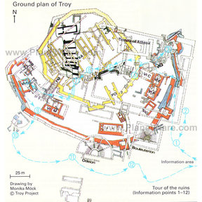 Map - Troy - Ground Plan