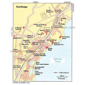 Map - Carthage