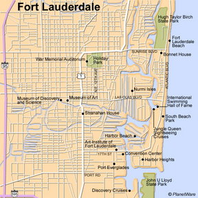 Map - Fort Lauderdale