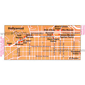 Map - Hollywood