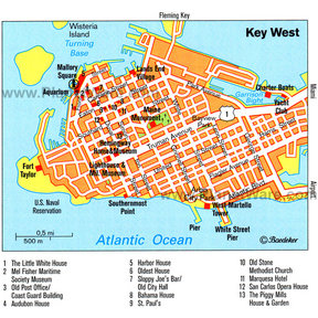 Map - Key West