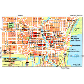 Map - Milwaukee