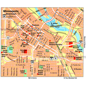 Map - Minneapolis
