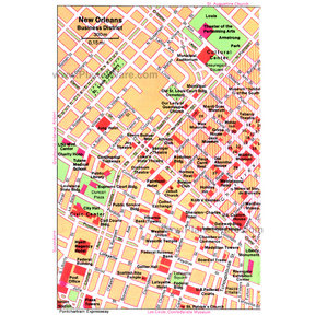 Map - New Orleans - Business District