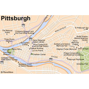 Map - Pittsburgh