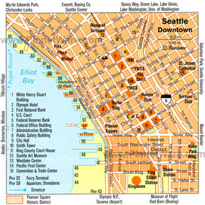Map - Seattle