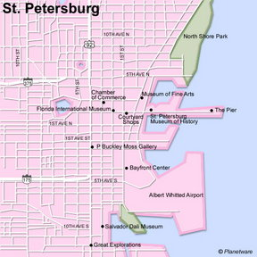 Map - St. Petersburg