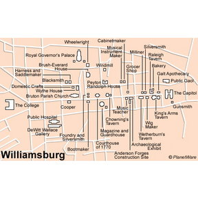 Map - Williamsburg