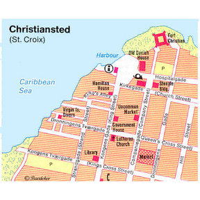 Map - Christiansted