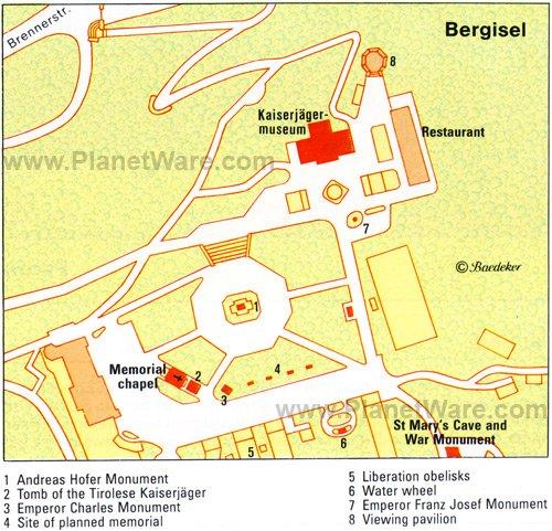 Bergisel - Plano de planta