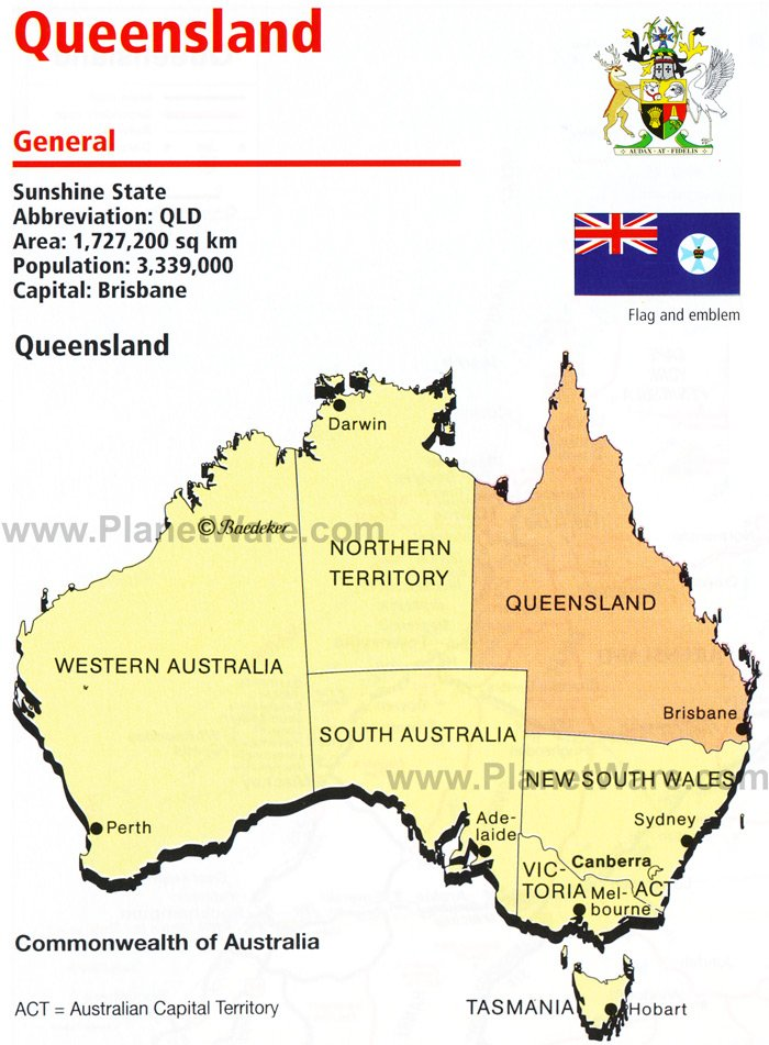 queensland map coloring pages - photo#27
