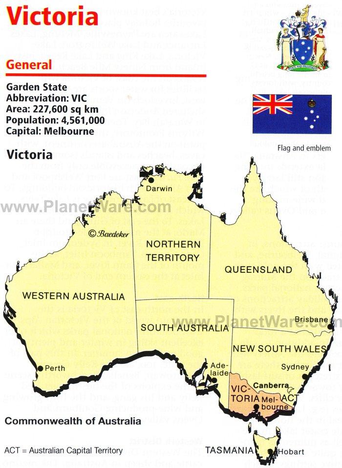 victoria river australia map