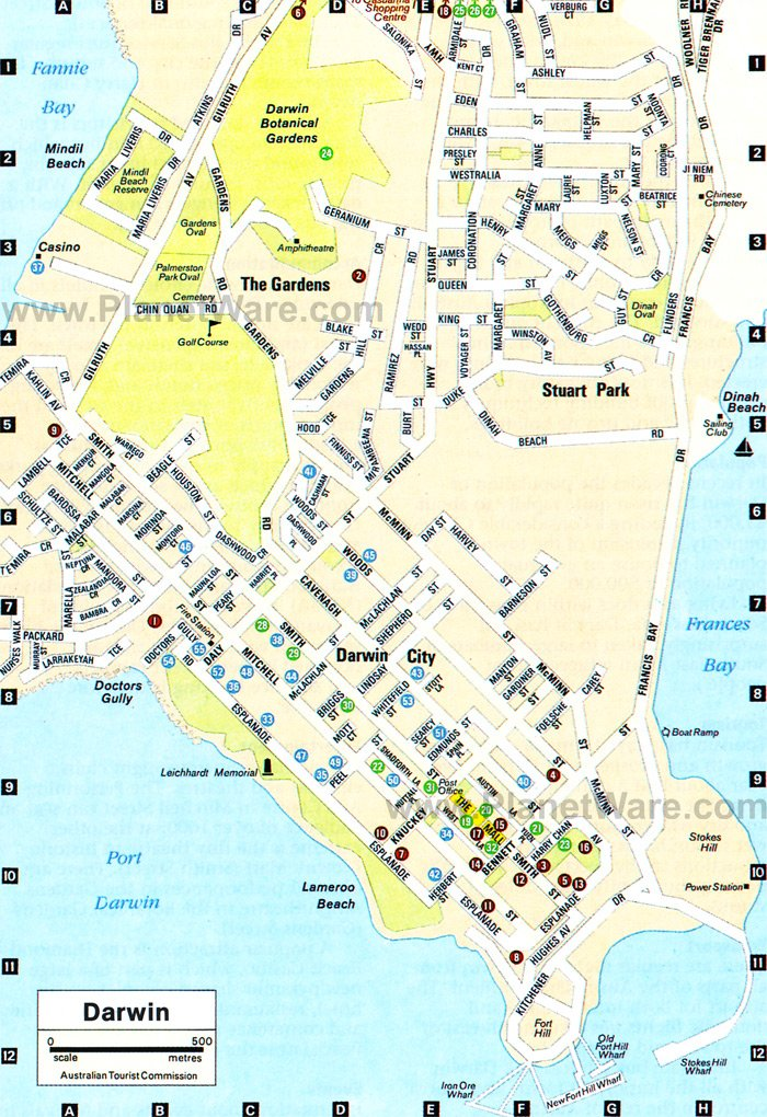 Darwin Australia Cruise Port of Call