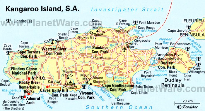 Exploring the Top Attractions of Kangaroo Island – Australia Tourist Attractions Map