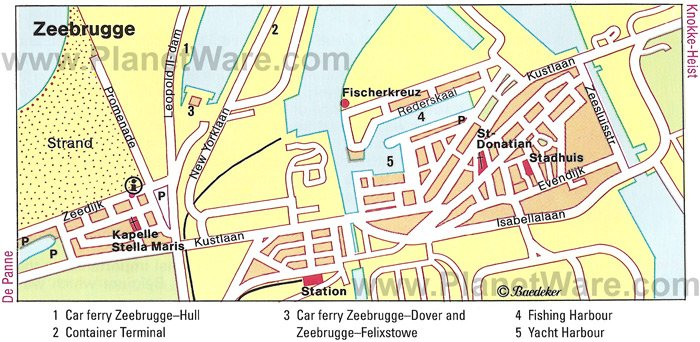 Zeebrugge Cruise Port Guide CruisePortWikicom