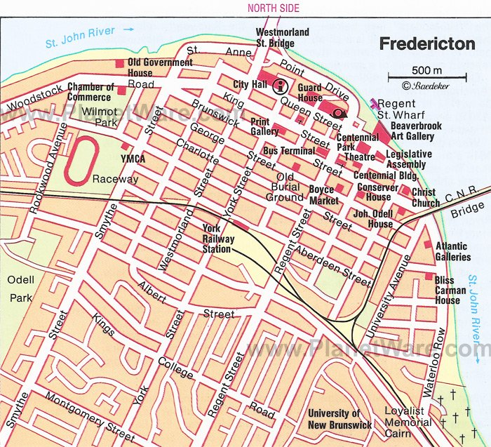 8 TopRated Tourist Attractions in Fredericton – Tourist Attractions Map In Canada
