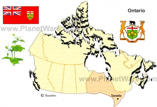 map of ontario cities. Ontario is Canada#39;s most
