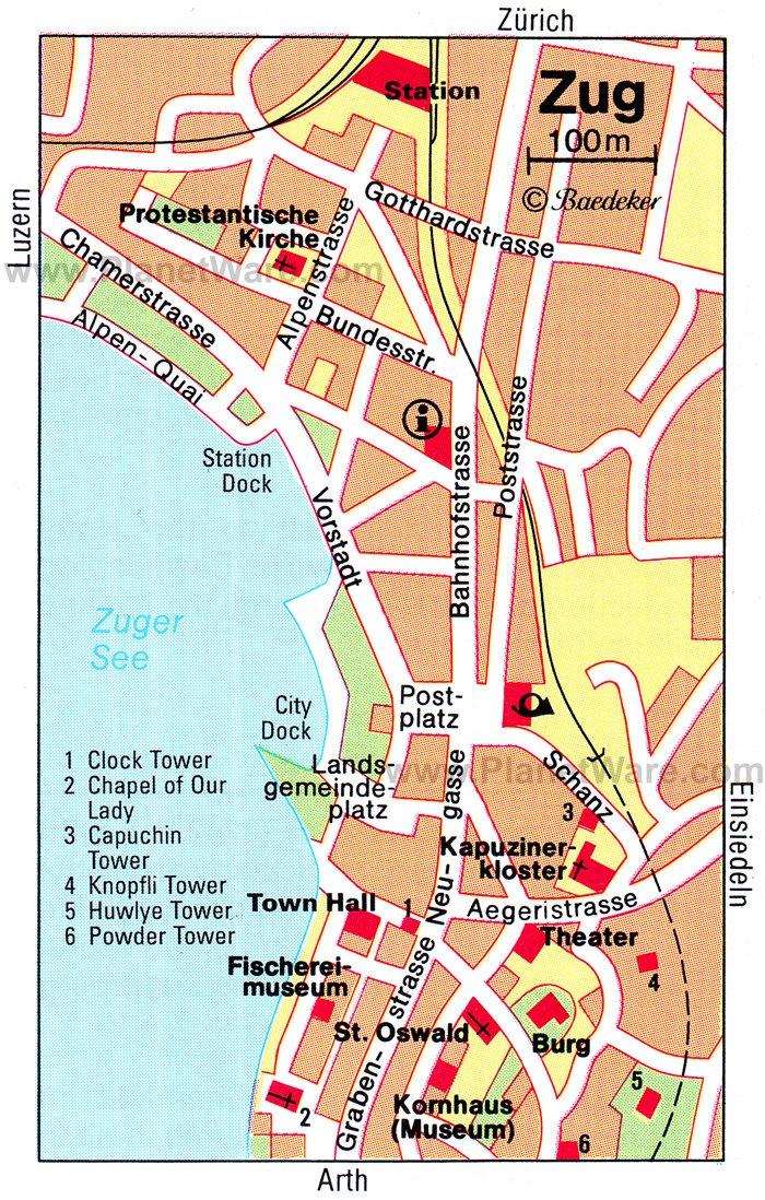 Цуг карта города
