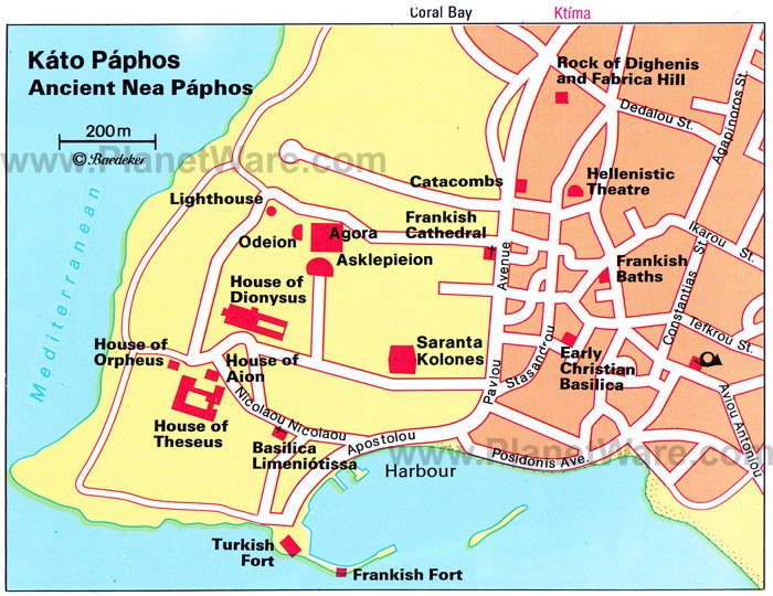 Paphos Cyprus Cruise Port Of Call